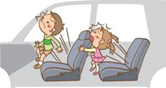 シートベルトの着用の効果