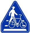 横断歩道・自転車横断帯